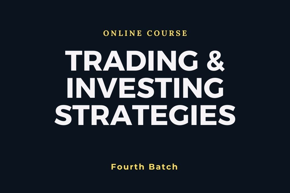 Course & Anticourse - Investing & Trading Strategies